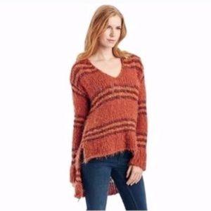 Free People Knit Sweater High Low Hem
